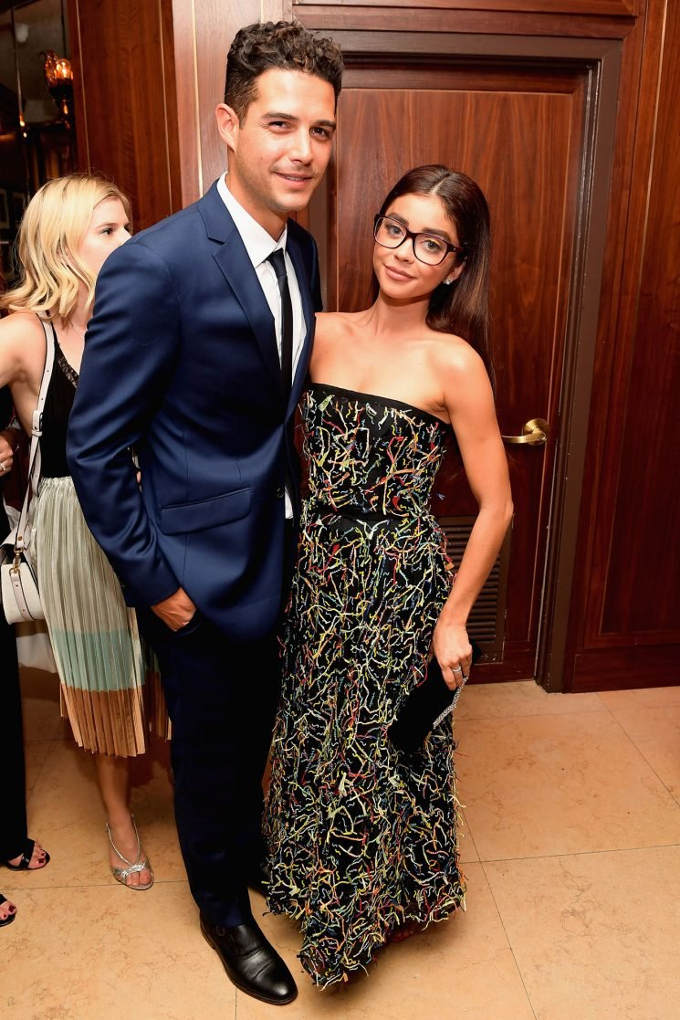 Sarah Hyland's Boyfriend Wells Adams Claps Back at Troll Criticizing Her for Wearing Glasses