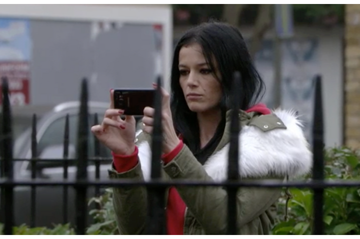 Who plays Hayley Slater in EastEnders, how is she related to Kat and Stacey and is Alfie Moon the father of her baby?