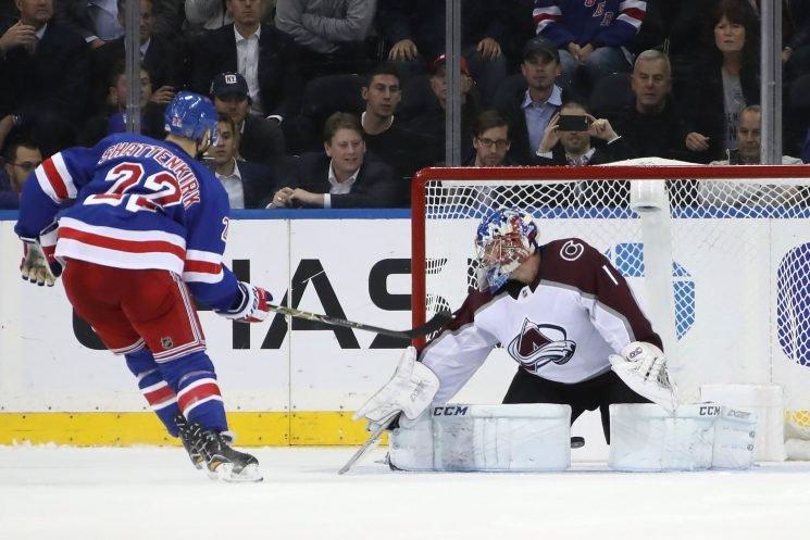 Rangers' hard work rewarded in shootout victory