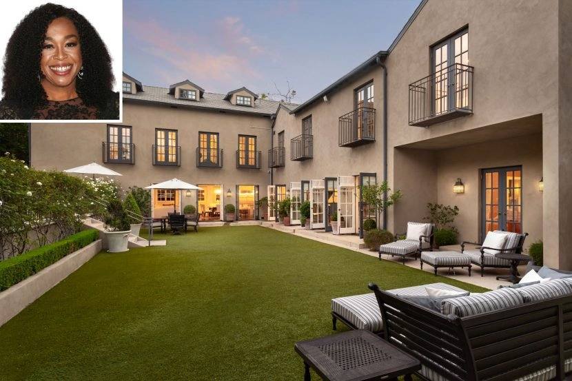 Shonda Rhimes Lists Massive Los Angeles Mansion for $10 Million — See Inside