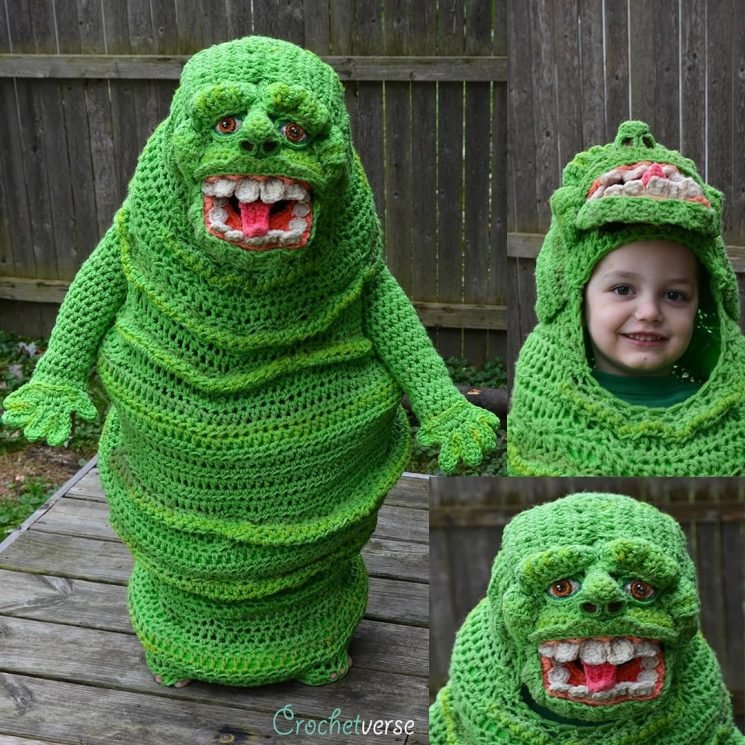 Who You Gonna Call? See the Epic Ghostbusters Halloween Costume One Mom Crocheted for Her Son