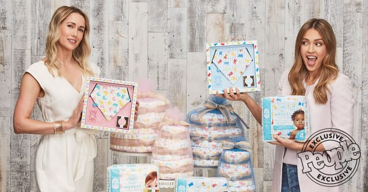 Jessica Alba's Launching 'Literally the Sweetest' Baby Shower Gifts that Have Something for Mom Too
