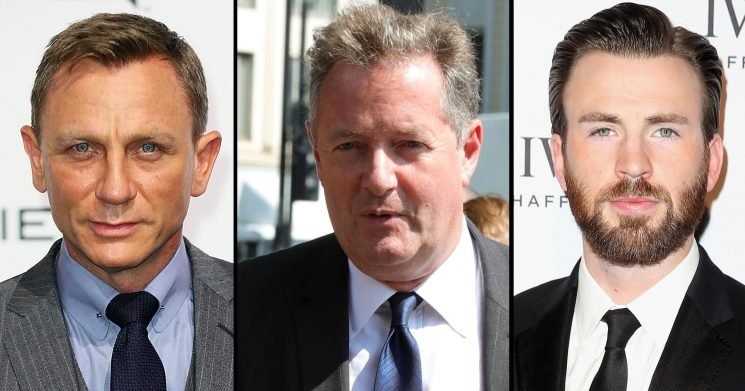 Daniel Craig Gets Dad-Shamed by Piers Morgan — and Chris Evans Claps Back