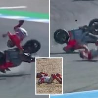 Jorge Lorenzo suffers huge horror crash during practice session at Thailand GP