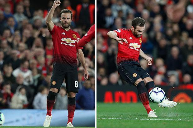 Manchester United star Juan Mata the Premier League free-kick king since his arrival at Chelsea in 2011