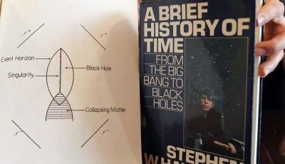 Stephen Hawking wheelchair, manuscripts up for sale