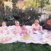 Khloe Kardashian Throws the Cutest 'Cousin Cupcake' Party for Baby True's Half-Birthday