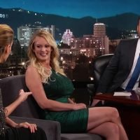 Stormy Daniels Identifies Trump's Penis From Mushroom Lineup on 'Kimmel'