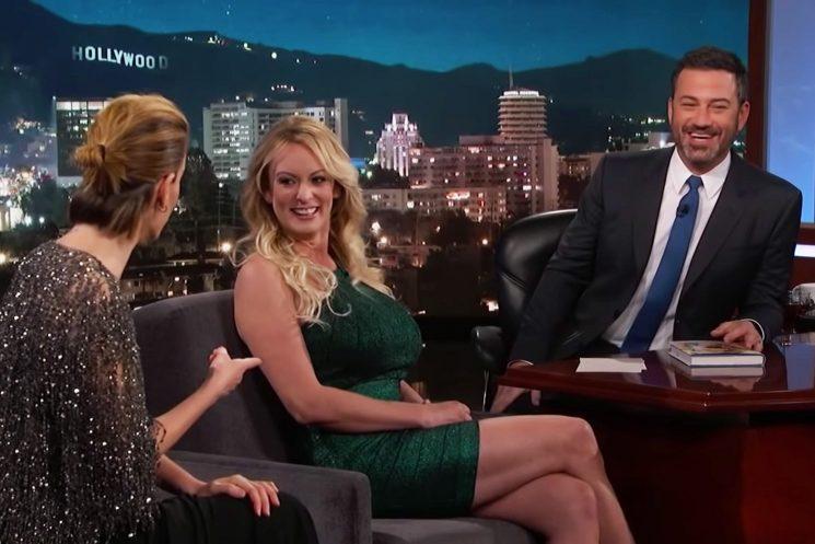 Stormy Daniels Identifies Trump's Penis From Mushroom Lineup on 'Kimmel'