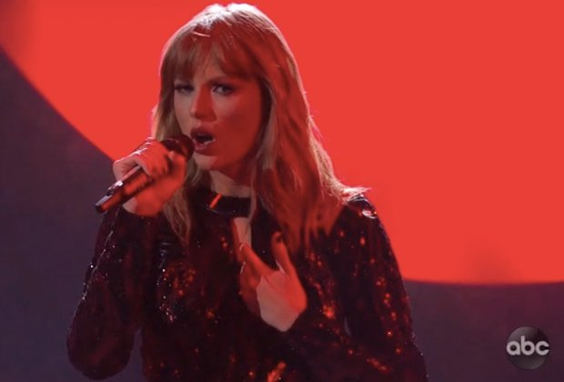 Taylor Swift Opens AMAs With 'I Did Something Bad' — Watch and Grade It