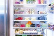 Inside Tiffani Thiessen's Crazy-Clean Fridge and More Celebs' Hyper-Organized Homes