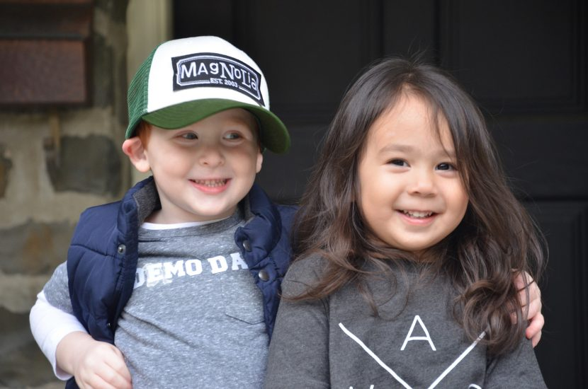 Toddler Best Friends Dress Up as Chip and Joanna Gaines in the Most Adorable Halloween Costume