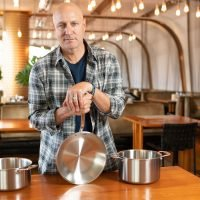 Tom Colicchio Partners With New Affordable Cookware Brand—See His Must-Have Piece