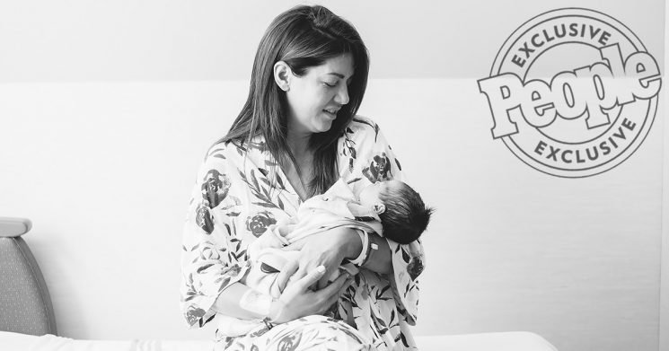 Family of Four! The Bachelorette'sJillian Harris and Fiance Justin Welcome Daughter Annie