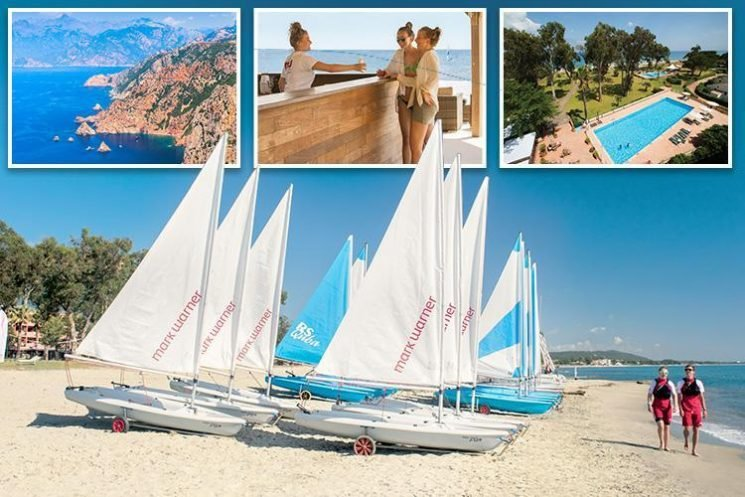 Corsica is perfect for families, beach lovers and water sports fans with Mark Warner