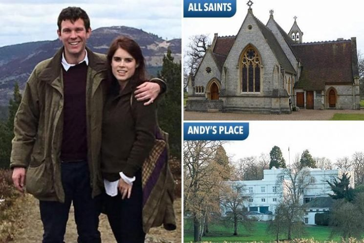 Princess Eugenie could have saved the taxpayer £2million by holding her wedding at a royal chapel near her dad's home