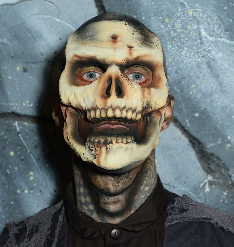 Watch Blink-182's Travis Barker (and His Kids!) Get Frightening Monster Makeovers