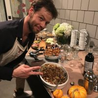 Ike Barinholtz's Go-To Thanksgiving Stuffing Recipe Is Inspired By a Pastrami Sandwich