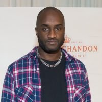 Virgil Abloh parties with glamorous group downtown