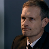 Baffled Coronation Street viewers declare Nick Tilsley 'must have travelled by Tardis' after he suddenly appeared at Leanne Battersby's hospital bedside