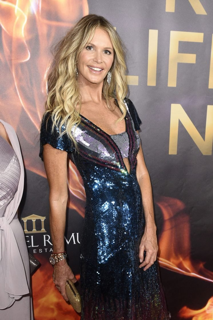 Elle MacPherson was living with Billy Joel when he brought Christie Brinkley over