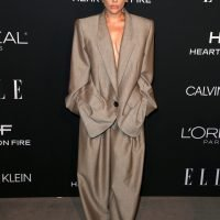 Why was Lady Gaga styled like a Kardashian at the Elle Women in Hollywood event?