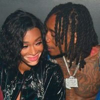 Wiz Khalifa and Winnie Harlow pack on the PDA