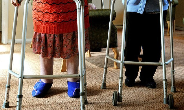Crutches, walking frames and wheelchairs should be returned to NHS