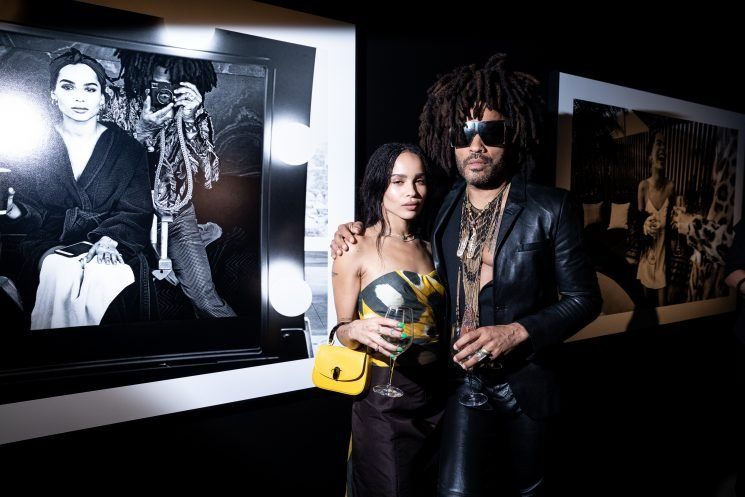 Lenny Kravitz Photographs Daughter Zoë Kravitz and Friends for Studio 54-Inspired Exhibition