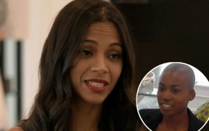Zoe Saldana Hosts Haunted Open House, Forces Assistant To Pick Up Ghost Dog Poop