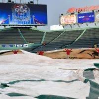 Rain threatens start of World Series Game 1