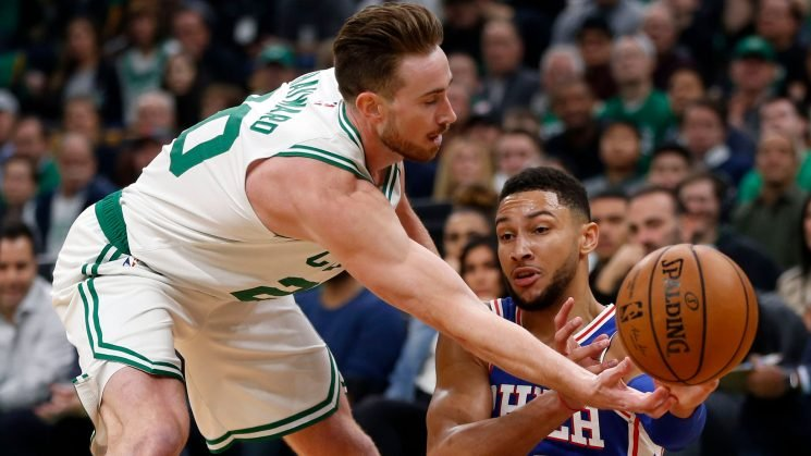 They're back! Gordon Hayward, Kyrie Irving finally share court for star-studded Celtics