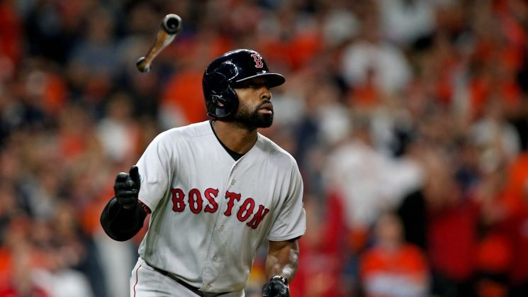 Red Sox pull away with Jackie Bradley Jr.'s late grand slam, take 2-1 ALCS lead over Astros