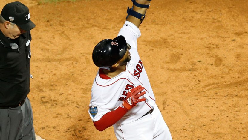 Red Sox take Game 1 of World Series over Dodgers in battle of aces
