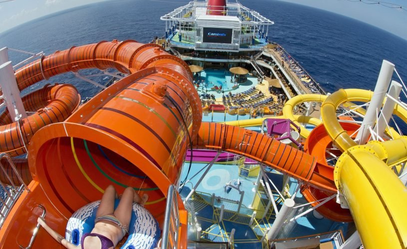 From zip lines to surfing pools, 30 cruise ship attractions that will blow your mind