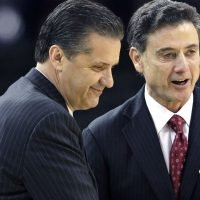 John Calipari: Rick Pitino at a Kentucky practice would 'put North Korea on the backburner'