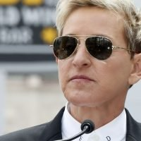 Ellen DeGeneres says she faced death threats, including a bomb threat, after coming out