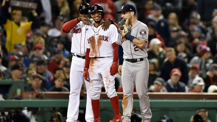 Red Sox MVP Mookie Betts comes to life in Game 2 of ALCS