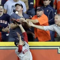 MLB: Astros fan details what happened after controversial interference call