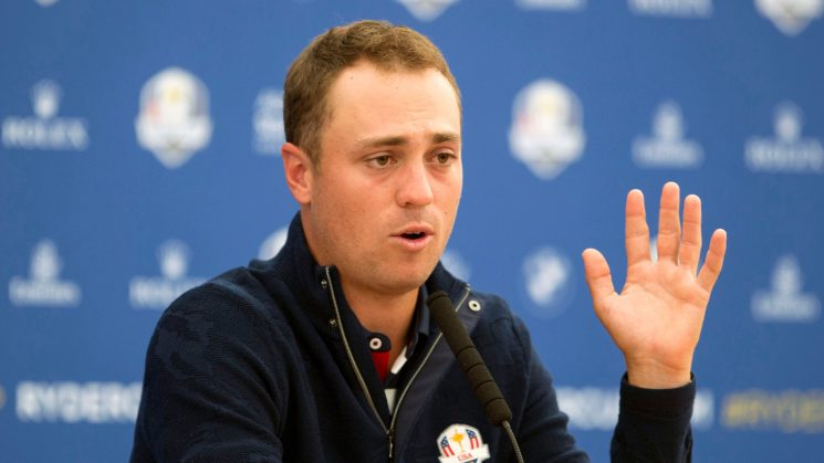 Justin Thomas sides with Jim Furyk over Patrick Reed in Ryder Cup flap