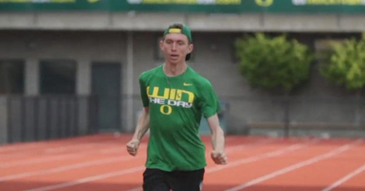"""First runner with cerebral palsy signed by Nike says he's """"still in shock"""""""