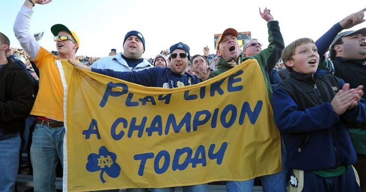 The best college football fight song