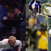 NFL: Odell Beckham Jr. greeted Randy Moss with moon celebration