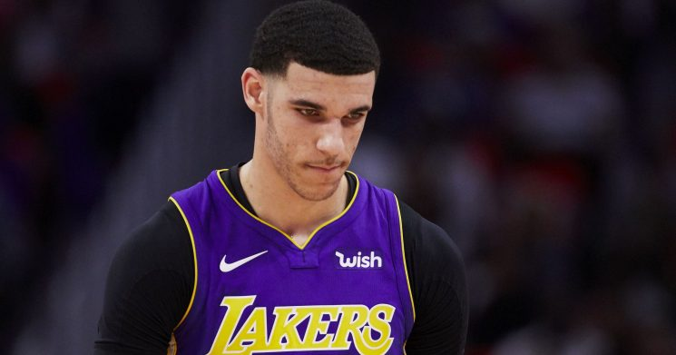 Lakers' Lonzo Ball covers up his 'Big Baller Brand' tattoo for preseason game