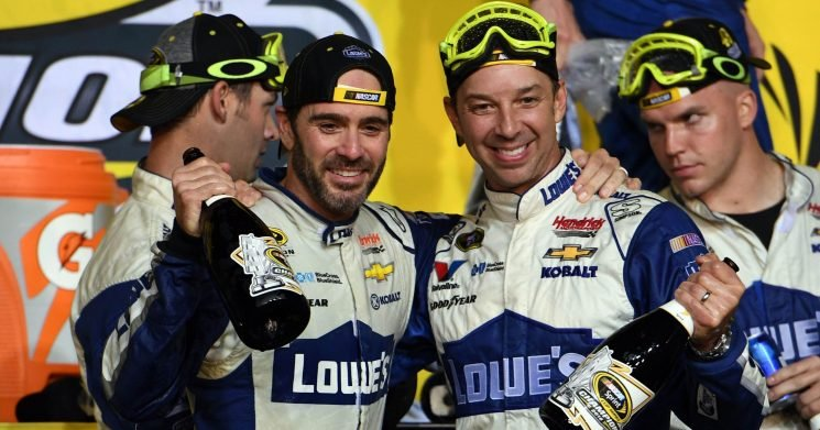 Jimmie Johnson and longtime crew chief Chad Knaus explain why they're breaking up