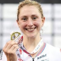 Laura Kenny wins omnium gold at track World Cup in Canada
