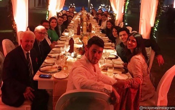 Nick Jonas Celebrates Thanksgiving With Priyanka Chopra in India