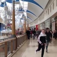 Panicked Bluewater shoppers run for their lives after someone screams 'bomb!'