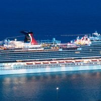 One terrifying minute on cruise ship that had passengers screaming and crying