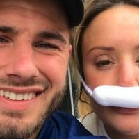 Charlotte Crosby reveals black eyes and painful swelling after breaking her nose